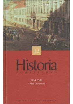 Historia powszechna, 13 tom