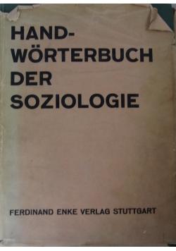 Handworterbuch der soziologie