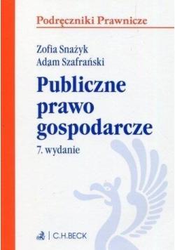 Publiczne prawo gospodarcze. Seria: Podręczniki Pr