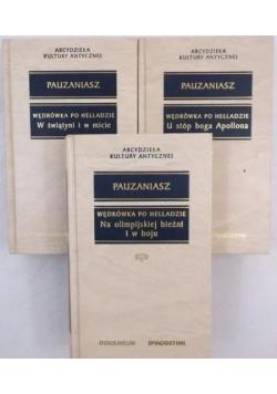 Wędrówka po Helladzie, Księgi I-X