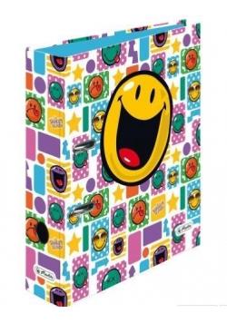 Segregator A4 8cm Smiley White max.file