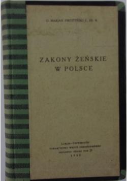 Zakony żeńskie w Polsce, 1935 r.