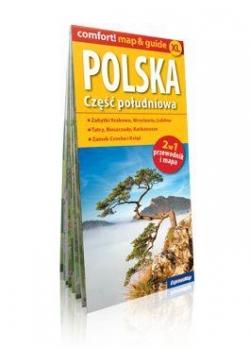 Comfort!map&guide XL Polska. Część południowa 2w1