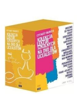 Kolekcja lektur szkolnych na DVD dla liceum BOX