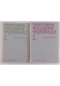 Historia filozofii indyjskiej, tom I-II