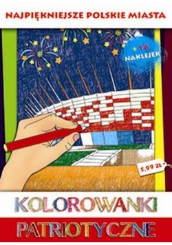 Kolorowanki Patriot. Najpiękniejsze polskie miasta