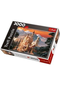 Puzzle 3000 Zimowy Zamek Neuschanstein TREFL