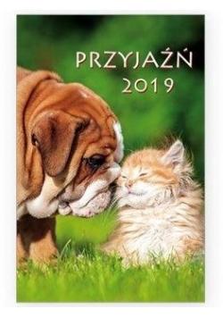 Kalendarz 2019 kieszonkowy - Przyjaźń 1