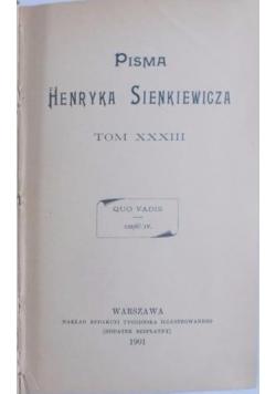 Quo Vadis część IV, 1901 r.
