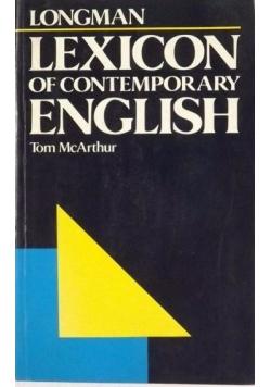 Lexicon of Contemporary English