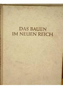 Das Bauen im neuen reich, 1938r.
