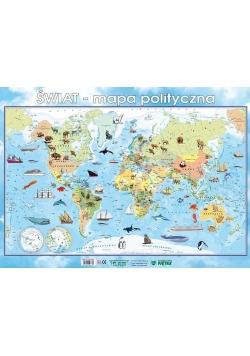 Puzzle - Świat mapa polityczna