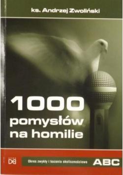 1000 pomysłów na homilie