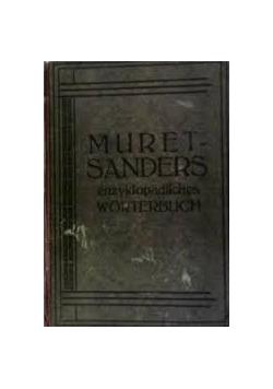 Muretsanders enzyklopadisches worterbuch. Teil I, 1909 r.