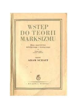 Wstęp do teorii marksizmu, 1949 r.