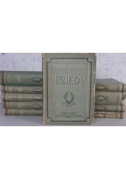Dzieła, zestaw 10 książek, 1949 r.