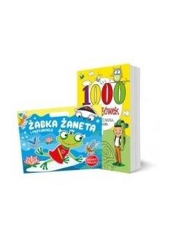 Pakiet: Żabka Żaneta i../1000 łamigłówek...