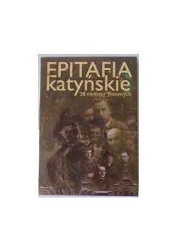 Epitafia katyńskie 38 miniatur filmowych, płyta DVD