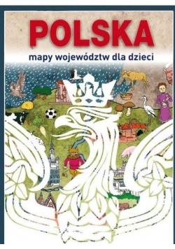 Polska Mapy województw dla dzieci TW