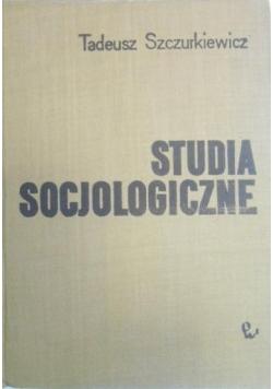 Studia socjologiczne