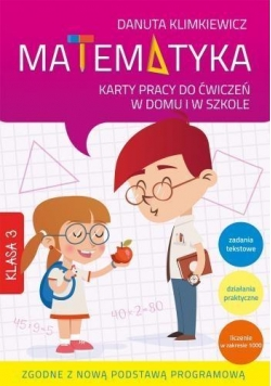 Matematyka kl.3 KP do ćw. w domu i w szkle