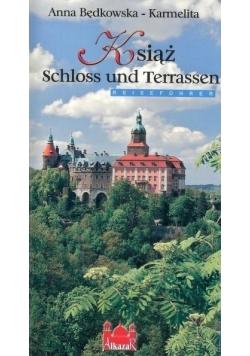 Książ zamek i tarasy (wersja niemiecka)