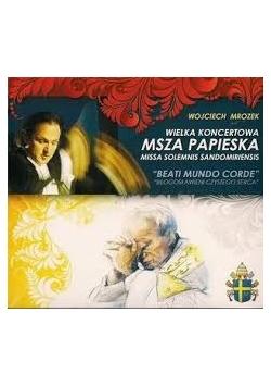 Wielka koncertowa msza papieska, płyty CD