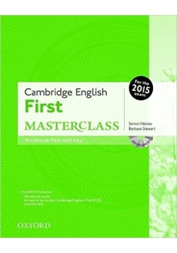 Cambridge English First Masterclass WB