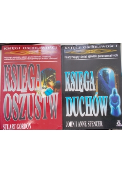 Księga oszustów , Księga duchów, 2 książki