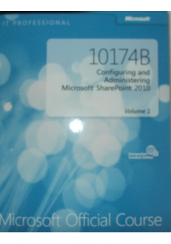 Microsoft Official Course10174B