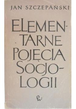 Elementarne pojęcia socjologii