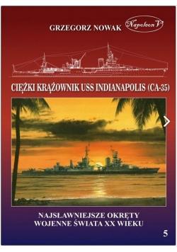 Amerykański ciężki krążownik USS Indianapolis