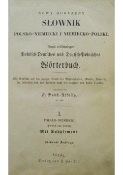 Słownik Polsko - Niemiecki i Niemiecko - Polski, 1895 r.