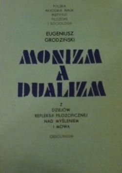 Monizm a dualizm