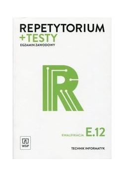 Repetytorium + testy Egzamin zawodowy Kwalifikacja E.12