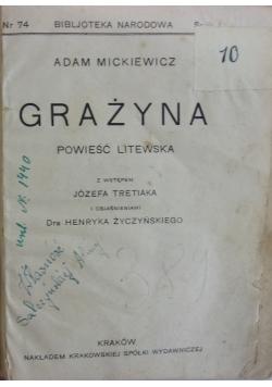 Grażyna, 1924 r.