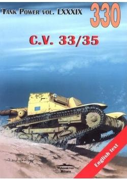 C.V. 33/35. Tank Power vol. LXXXIX 330