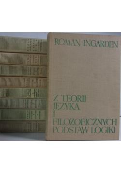Dzieła filozoficzne, zestaw  9 książek
