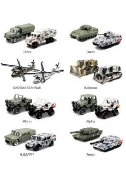 Pojazdy wojskowe Forces 3 różne rodzaje