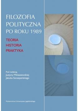 Filozofia polityczna po roku 1989