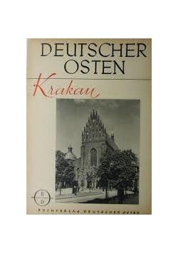 Krakau ein deutsches stadtbild, 1944r.