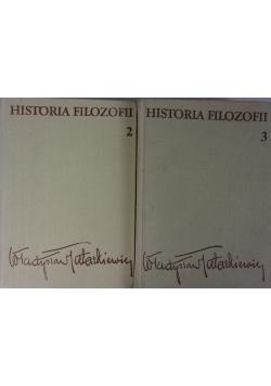 Historia filozofii, zestaw 2 książek
