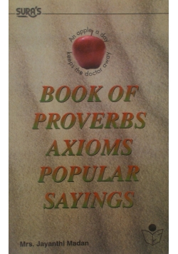 Book of proverbs axioms popular syinges