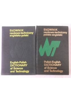 Słownik naukowo-techniczny: polsko-angielski / angielsko-polski
