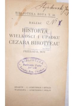Historya wielkości i upadku Cezara Birotteau,