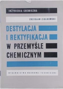 Destylacja i rektyfikacja w przemyśle chemicznym