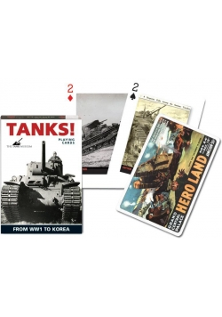 """Karty standard """"Czołgi"""" PIATNIK"""