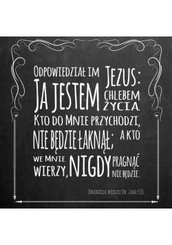 Podstawka korkowa - Odpowiedział im Jezus