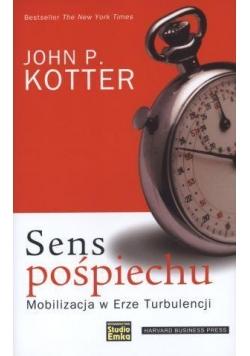Sens pośpiechu - John P. Kotter
