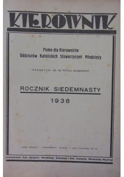Kierownik, rocznik 1938, nr 1-12
